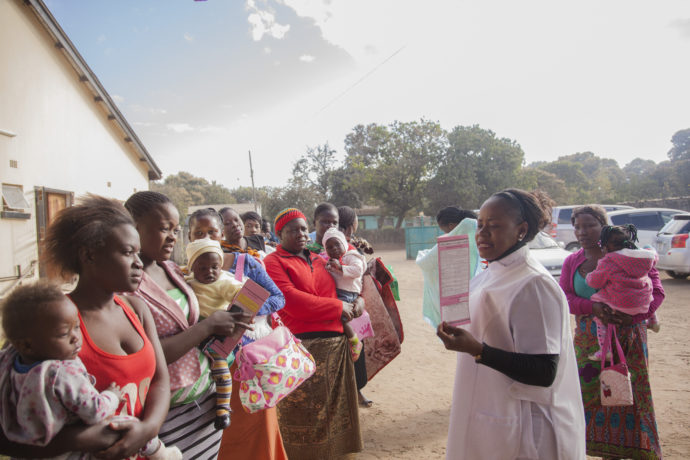 In Zambia, BID partners with UNICEF to reach more children with life-saving vaccines