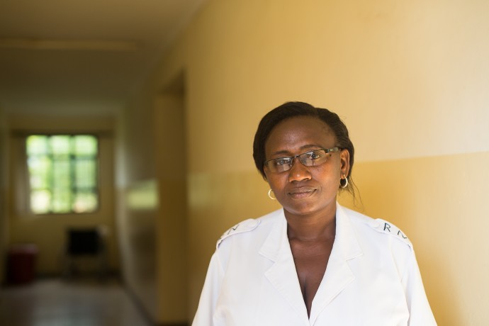 Oliver Mlemeta, sister in charge at Usa River Health Center Tanzania.