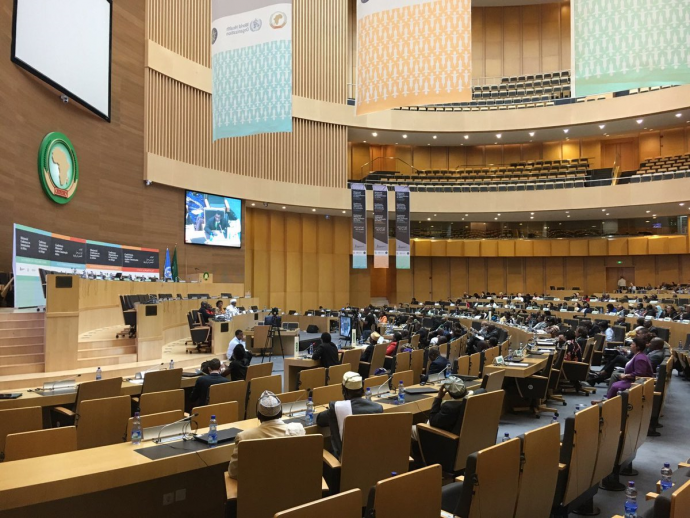 Photo: Final day of the Ministerial Conference on Immunization in Africa. Photo: @AfricaVaxConf on Twitter.