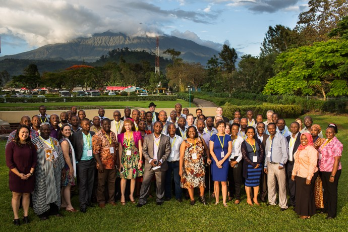 Photo: PATH/Trevor Snapp. Participants at the December 2015 BLN Discussion Meeting in Arusha, Tanzania.